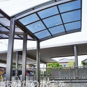 岐阜 サイクルポート専門店『あなたのお宅を素敵にするお店』 サイクルポート カムフィNexR
